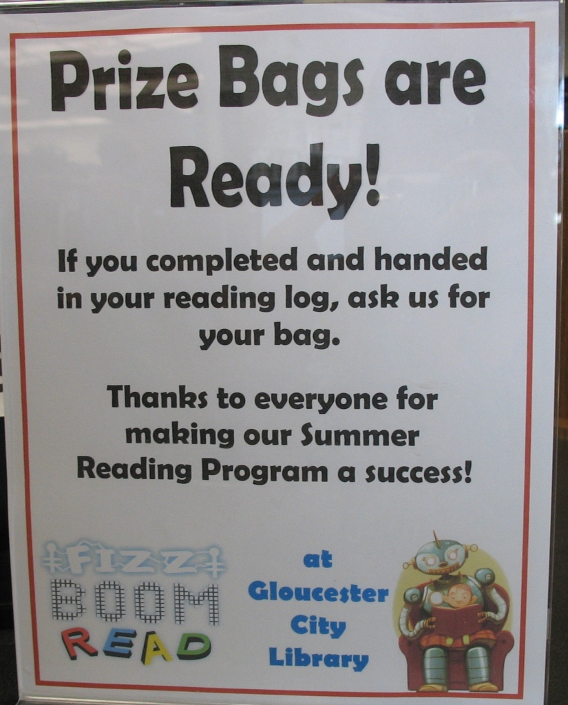 Prize bags are readyCrop
